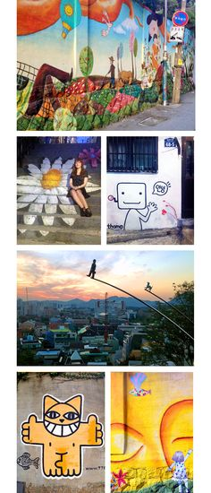 Ihwa Mural Village, Seoul, South Korea
