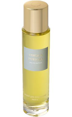 Corsica Furiosa Parfum d`Empire -  Wood, moss, earth, hay, honey, resin... Green from top to bottom and in every shade, its sillage carries the smells of the mountain maquis