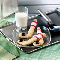 Hockey Stick Cookies
