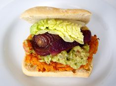 Hamburger, Sandwiches, Vegan, Ethnic Recipes, Yogurt Cups, Balsamic Vinegar, Tomatoes, White Bean, Tin Whistle