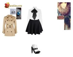 """""""Cassie Angle-Daughter of Castiel"""" by maxinehearts ❤ liked on Polyvore featuring Grace, Polo Ralph Lauren, Jaeger, Alexander McQueen, supernatural, OC and Descendants"""
