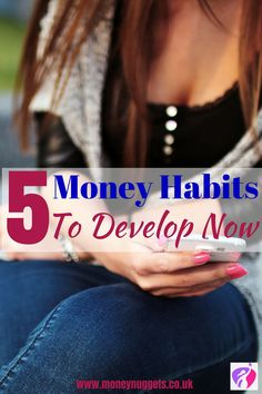 Do you want to achieve your financial goals this year? Here are 5 good money habits to develop this year in order to achieve your financial goals.