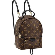 LV Louis Vuitton Palm Springs Backpack Mini SOLD OUT New ($2,925) ❤ liked on Polyvore featuring bags, backpacks, city bag, knapsack bags, backpacks bags, mini rucksack and louis vuitton