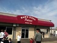By far the best pizza at the Jersey Shore...Sam's Pizza Palace on the Wildwood Boardwalk