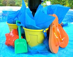 pool party ideas for children | Kids Beach Party - Surfs Up and So are Fun Times with this Pool Party ...