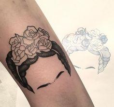 Frida Kahlo Tattoo done by Rasenk (Granada, Spain). #tattoo #tatuaje #tatouage instagram.com/rAsenk
