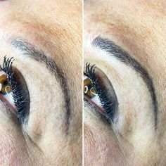 A quick little color refresh appointment keeps these brows looking sharp!  DM me with questions or to book your appointment today!  #happybrowshappylife @lilikoiartistry