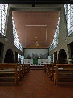 Heilig Geist Kirche Essen in Essen, Architektur - baukunst-nrw