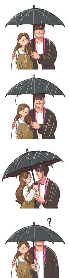 😛😛ku6 bhi hote hai..nahi?? (HuM).. Love Cartoon Couple, Cute Couple Comics, Couples Comics, Cute Couple Art, Cute Comics, Cute Couples, Cute Couple Drawings, Bff Drawings, Cartoon Memes