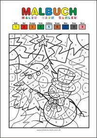 Pin Von Sib Hu Auf Weihnachten Malen Nach Zahlen Kinder Malen