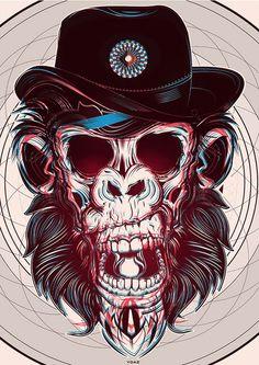Ilustrações geométricas - Yo Az   www.shotofideas.com.br