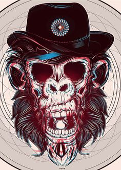 Ilustrações geométricas - Yo Az | www.shotofideas.com.br