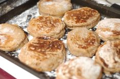 Soaked English Muffins. Simple & Delicious! | The Elliott Homestead
