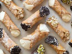 What makes the best cannoli, from shell to filling. i love cannoli! Italian Desserts, Italian Recipes, Italian Pastries, Italian Cookies, Italian Foods, Gourmet Desserts, French Pastries, Italian Dishes, Plated Desserts
