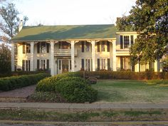 Isom Place    Oxford, Mississippi    Built in 1843, this is one of the oldest structures in town. It is where the University's charter was signed and protected by General Grant during the Civil War.