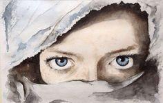 """Into darkness ..luci e ombre "" #watercolor #art #arte #Mondovi #drawing #acquerello #painting #mondo  #photography"