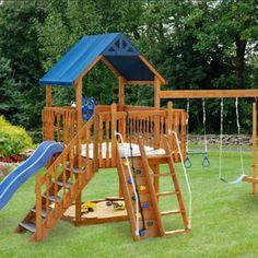 I love this swing set