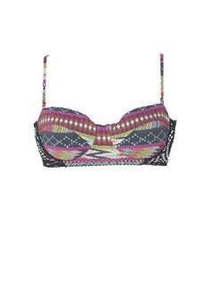 billabong tribal underwire bandeau & billabong tropic boy bottom - Brands We Love - New Swim 2013 - Just In - dELiA*s