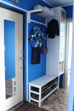 Сине-белая прихожая - IKEA FAMILY