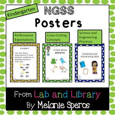 Posters to display Kindergarten NGSS standards: Includes ALL components (performance expectations, cross-cutting concepts, and science and engineering practices) Kindergarten Posters, Kindergarten Science, Next Generation Science Standards, Science Notes, 5th Grade Science, 5th Grades, Teaching Resources, Teacher Pay Teachers, School Stuff