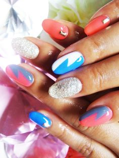 painted nails | Apply Artistically Painted Nail Designs 2012
