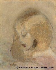 Annuli Reading, 1923 ,by Helene Schjerfbeck Helene Schjerfbeck, Art Database, Art Plastique, Painting Inspiration, Art History, Painting & Drawing, Photo Art, Oil On Canvas, Illustration Art