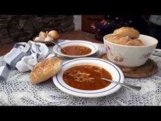 Dršťková polévka Chili, Soup, Pudding, Youtube, Desserts, Kitchens, Czech Recipes, Tailgate Desserts, Chili Powder