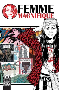 Buy Femme Magnifique by Shelly Bond at Mighty Ape NZ. The Kickstarter sensation that united over 100 comic book writers and artists from around the globe is now available in paperback with new content, in. Free Comics, A Comics, Comic Book Artists, Comic Books, Rat Queens, Misty Copeland, Crown, Yesterday And Today, Book Publishing