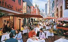 Melbourne City cafe culture