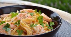 Moi et les pâtes ! J'en mangerais tous les jours et à toutes les sauces :-)  Voici ma recette très gourmande et savoureuse....   ... One Pot Meals, Easy Meals, Pasta Recipes, Cooking Recipes, Pasta Sauces, Dinner Recipes, Ricotta Ravioli, One Pot Pasta, My Favorite Food