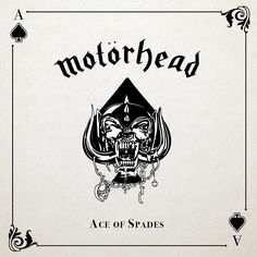 Motorhead - Ace of Spades My favorite Motorhead album. This one was a challenge as well. Very short album to design a new cover. So my idea was simple. Use the Motorhead dog and a Ace of Spades. There is a lack of craft, but the with the short time, it was the best I could do and I don't want to cheat. :) Length: 36 min
