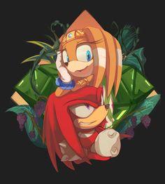 DeviantArt: More Like Tikal the echidna by propimol Hedgehog Art, Shadow The Hedgehog, Sonic The Hedgehog, Knuckles The Echidna, Classic Sonic, Sonic Mania, Sonic Heroes, Cool Doodles, Sonic Adventure