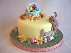 easy to make easter cakes | cake is quite easy and simple because basically the kinds of the cake ...