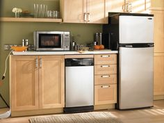 Complete your kitchen with a Danby Appliance #kitchen #mydanby #fridge #home #microwave #decor