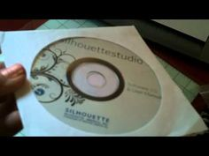 how to video for silhouette cameo ~ getting started ~ opening & adjusting blade ~ sarahsworld4u ~ video tutorial