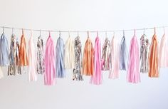 Image of Tassel Garland-Powder