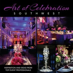 Get an exclusive invitation to great parties—and the ins and outs of what makes them so fabulous—with Art of Celebration Southwest, a collection that reveals the elite social scenes from Nevada and Arizona to Oklahoma and Texas. An exquisite compilation of vibrant photographs and interesting editorial, the book features events of all types and styles, includes party planning advice from the pros, and touches on everything from theme development to flowers and linens.