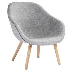 About a Lounge 82 stol, eik/grå – Hay – Kjøp møbler online på ROOM21.no