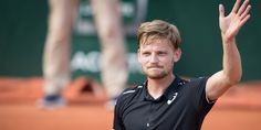 'The beautiful gesture of David Goffin to pay homage to the victims of the attack of Liège After his victory in the face of the young French hope Corentin Moutet (141st World player) at the 2nd of Roland Garros, David Goffin did not sign the camera, as is usually the case.  ...' lalibre.be David Goffin, Tennis, Glam Slam, France, Victorious, Sporty, Sign, Iphone, Mens Tops