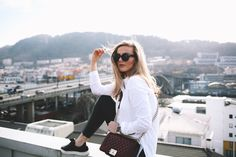 My favorite looks - Eirin Kristiansen Classic White Shirt, Dere, Good Vibes, Daniel Wellington, Like You, Your Style, Walking, Product Launch, My Favorite Things