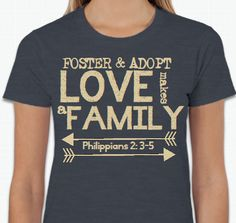 Love Makes A Family Adoption Shirts & Fundraisers: SPECIAL PRICE NOW - AUGUST 20th!!!