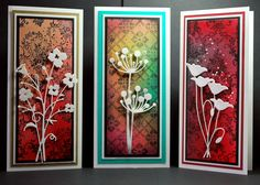 Memory Box dies- Bella Bouquet 98472, Chloe Stem 98321, Prim Poppy 98310 from  Eileens Crafty Zone blog