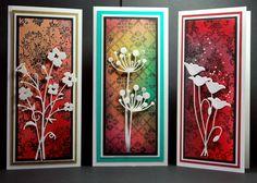 Memory Box dies- Bella Bouquet 98472, Chloe Stem 98321, Prim Poppy 98310 from  Eileens Crafty Zone blog