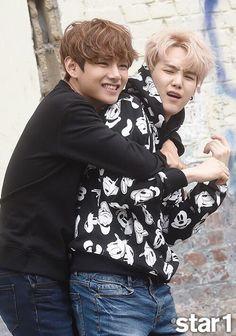 Abraços de TaeGi