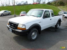 nice 2000 ford ranger 4x4 white car images hd Oxford White 1998 Ford Ranger XL Extended Cab 4x4 Exterior Photo