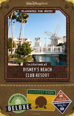 Walt Disney World Plannings Pins: Discover the casual elegance of this charming, New England-style Resort hotel. Savor exquisite dining, and explore the pools, lagoons and spas of Stormalong Bay. Sail around Crescent Lake on a rented mini-powerboat, and experience the luxurious comfort of a Club Level Suite
