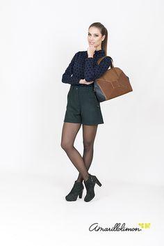 ¿Qué ponerte para ir a trabajar sin ser aburrida? Encuentra lo que necesitas en la #colección #amarillolimon #otoño #invierno #2015 #2016. Ya en nuestra tienda on line: http://www.amarillolimon.com/es/100-eshop