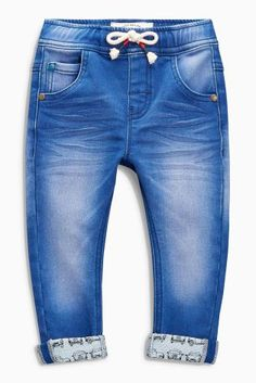 Buy Aqua Jersey Denim Car Pull-On Jeans (3mths-6yrs) online today at Next: Hungary