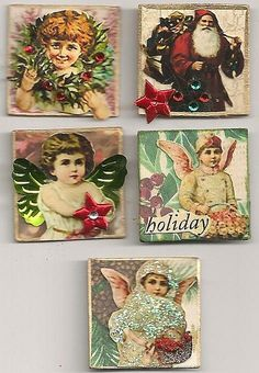 Christmas vintage inchies