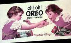 Oh! Oh! Oreo Creme Sandwich Vintage Ads Food, Vintage Ephemera, Nabisco Oreo, Oreo Cookies, Sandwiches, The Past, Old Things, Paninis